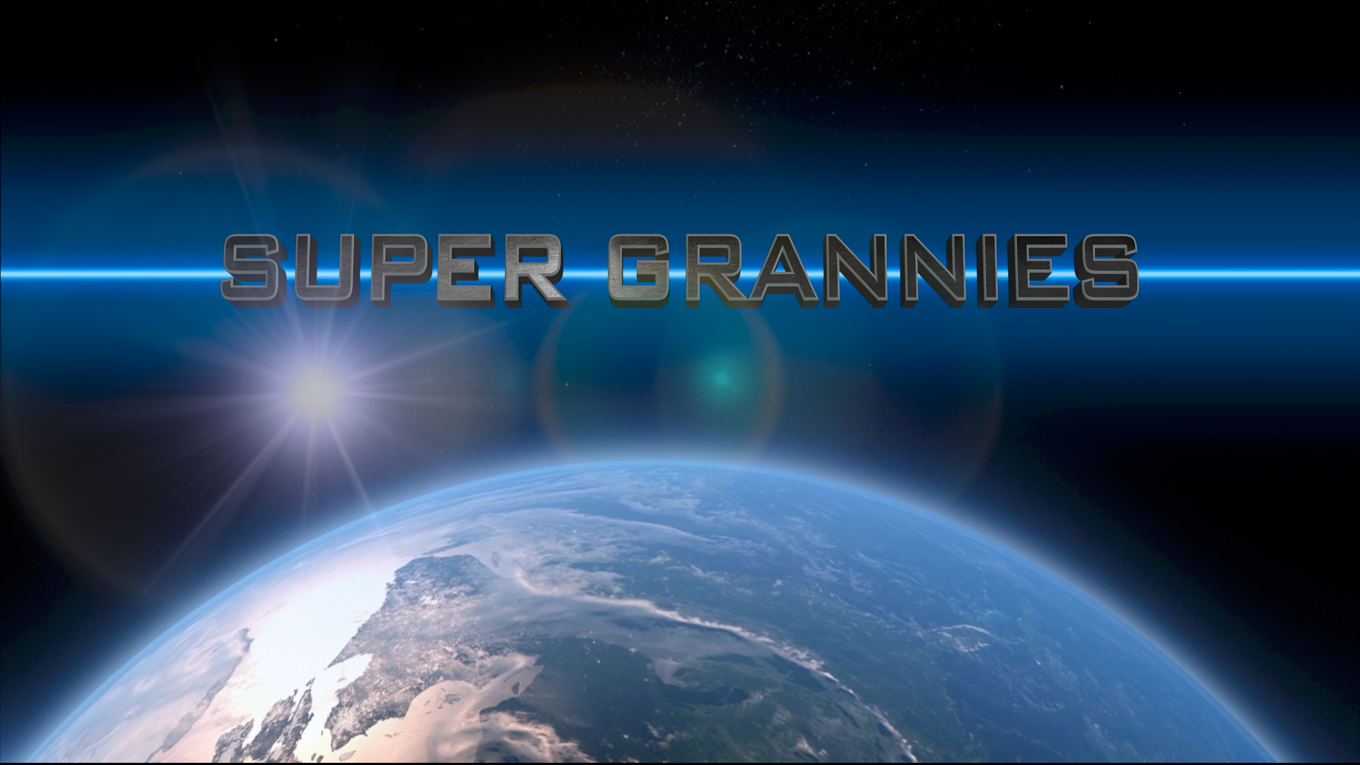 Super Grannies Title Frame